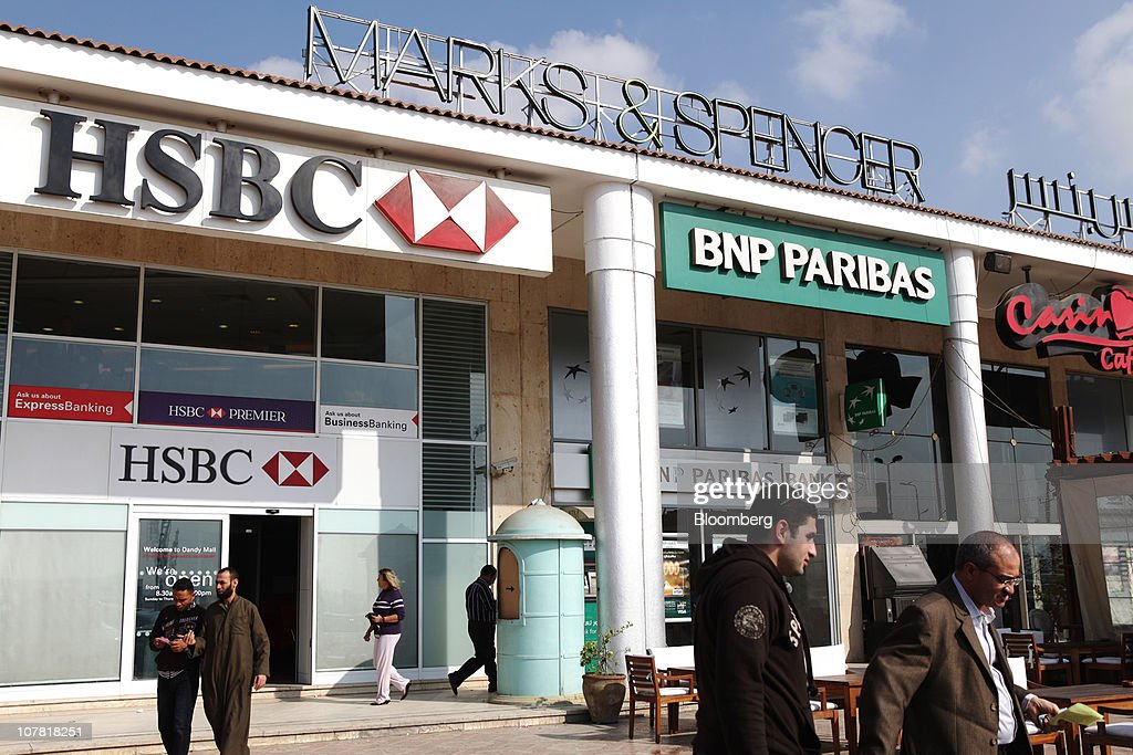 Marks And Spencer's Store Opens In Cairo : News Photo
