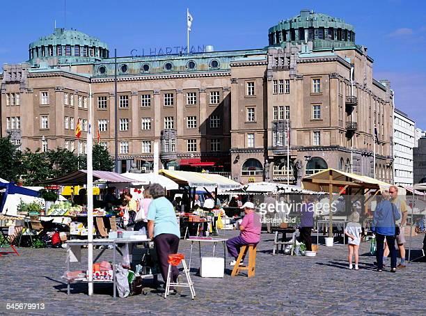 Markt auf dem Marktplatz - 1999