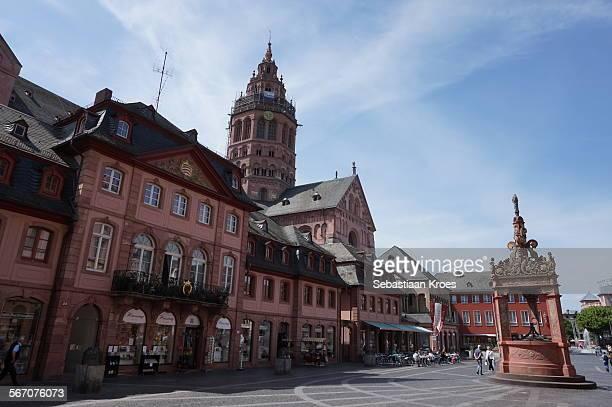 Marktbrunnen, Mainzer Dom, Mainz, Germany