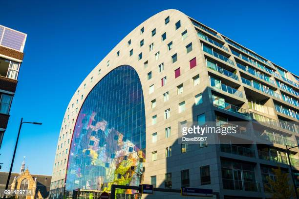 Markthal (Market Hall) Building in Rotterdam