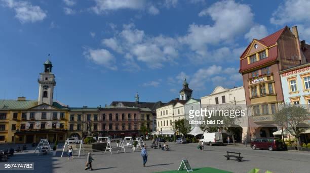 Marktplatz Cieszyn Polen