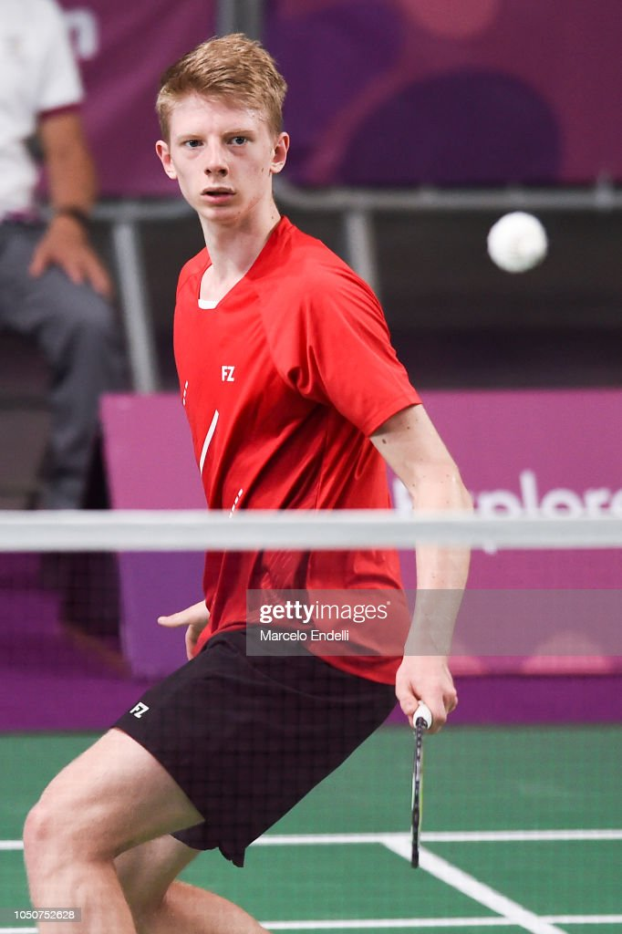 Badminton - Buenos Aires Youth Olympics: Day 1 : News Photo