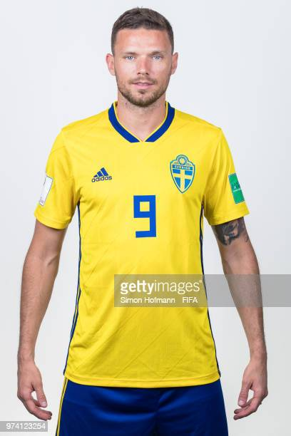 Markus Berg of Sweden poses during the official FIFA World Cup 2018 portrait session on June 13 2018 in Gelendzhik Russia