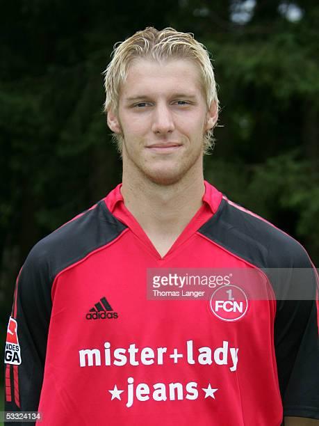 Markus Daun during the Team Presentation of 1 FC Nuremberg for the Bundesliga Season 2005 2006 on July 1 2005 in Bad Woerishofen Germany