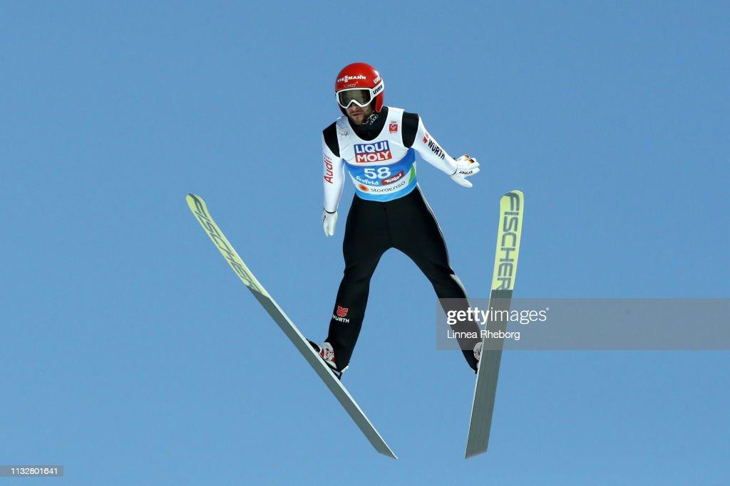 AUT: FIS Nordic World Ski Championships - Ski Jumping Competition Men's HS109