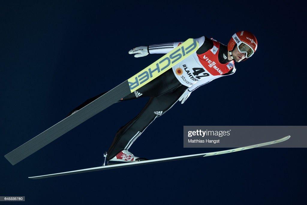 Men's Ski Jumping HS100 - FIS Nordic World Ski Championships : News Photo
