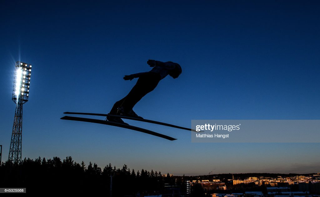 Men's Ski Jumping HS100 - FIS Nordic World Ski Championships : News Photo