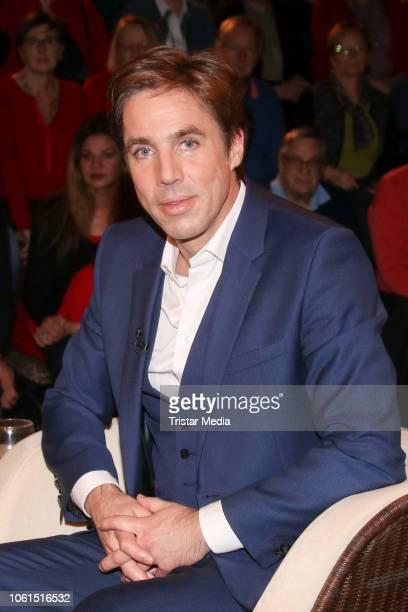 Markus Feldenkirchen during the 'Markus Lanz' TV show on November 14 2018 in Hamburg Germany