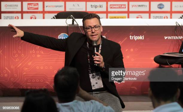 Markus Fest AEG Europe Director Special Corporate Events during the 2018 Turkish Airlines EuroLeague F4 Sports Business MBA at Stark Arens on May 18...