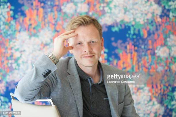Markus Gabriel, German philosopher and writer, Milan, Italy, 17th May 2015.