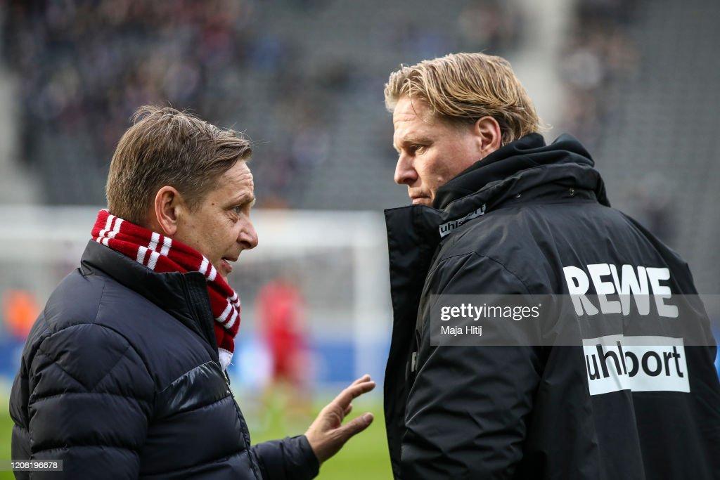 Hertha BSC v 1. FC Koeln - Bundesliga : News Photo