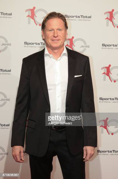 Markus Gisdol poses at the 10th anniversary celebration of the Sports Total Agency on November 5 2017 in Cologne Germany