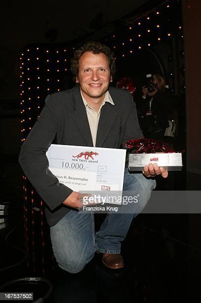 Markus H Rosenmüller Bei Der Verleihung Der New Faces Awards Im Bcc In Berlin Am 030407