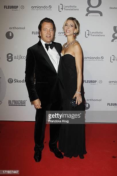 Markus Jerger Und Ehefrau Natalie Bei Der Unesco Gala Im Maritim Hotel In Düsseldorf