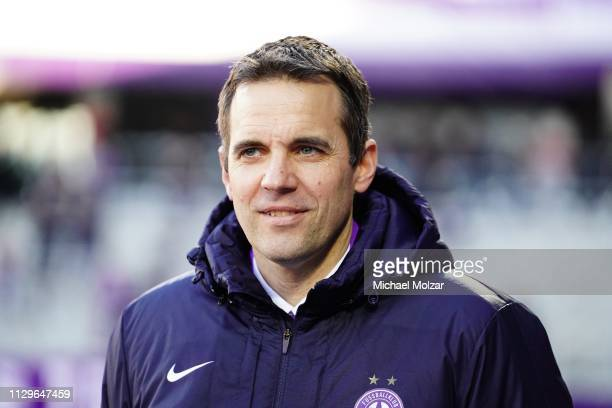 Markus Kraetschmer of Austria Wien during the tipico Bundesliga match between Austria Wien and SCR Altach at Generali Arena on March 10 2019 in...