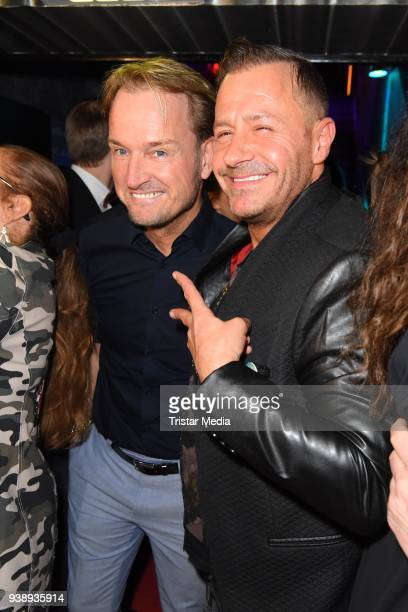 Markus Krampe and Willi Herren attend the 'Tivoli Cologne' Opening on March 27 2018 in Cologne Germany