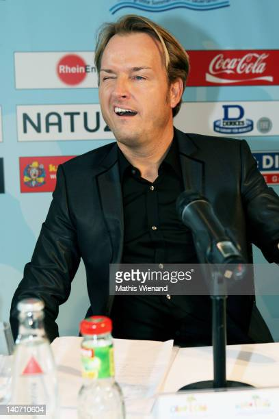 Markus Krampe attends the press conference at KoelnSKY on March 5 2012 in Cologne Germany