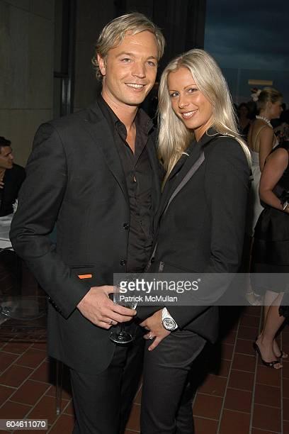 Markus LangesSwarovski and Caroline Swarovski attend SWAROVSKI Private Dinner to Honor the 2006 CFDA Nominees at Top of the Rock on June 4 2006 in...