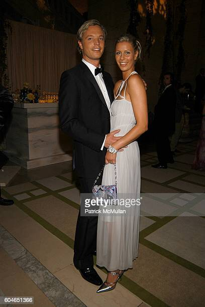 Markus LangesSwarovski and Caroline Swarovski attend The 2006 CFDA Fashion Awards at The New York Public Library on June 5 2006 in New York City