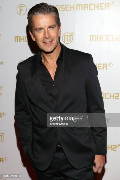 Markus Lanz attends the 10th anniversary of the tv shows 'Markus Lanz' and 'Kuechenschlacht' on November 2 2018 in Hamburg Germany