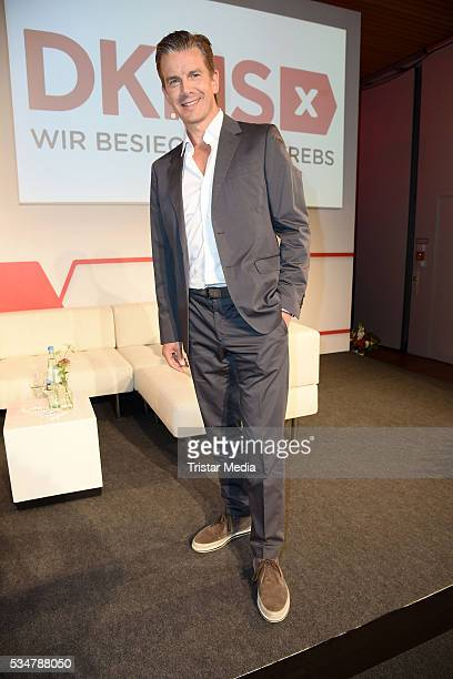 Markus Lanz attends the 25th Anniversary Of DKMS Press Conferencon May 27 2016 in Berlin Germany