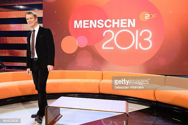 Markus Lanz attends the taping of 'Menschen 2013' Show on December 6 2013 in Munich Germany