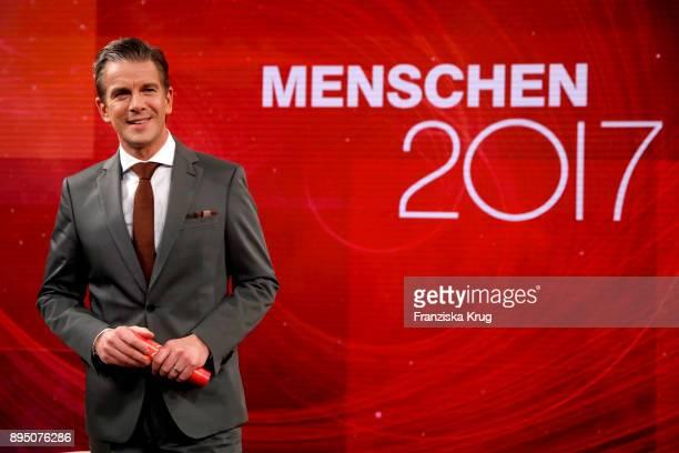 Markus Lanz during 'Menschen 2017' ZDF Jahresrueckblick on December 18 2017 in Hamburg Germany