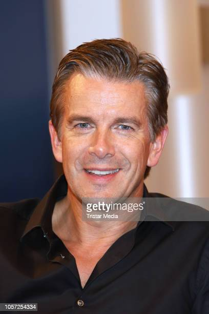 Markus Lanz during the DAS talk show to talk about the 10th anniversary of his talk show 'Markus Lanz' on November 2 2018 in Hamburg Germany