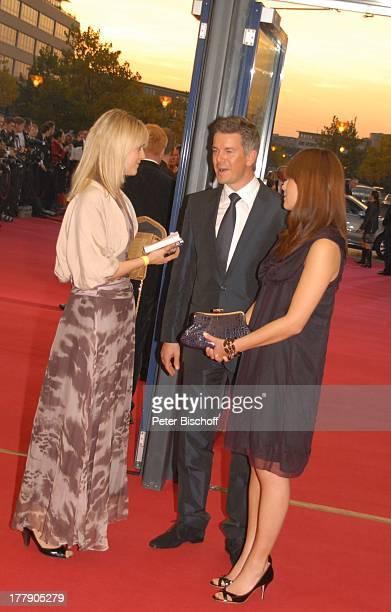 Markus Lanz Freundin Angela Gessmann PresseRedakteurin ZDFGala Verleihung 'Deutscher Fernsehpreis 2008' 'Coloneum' Köln NordrheinWestfalen...