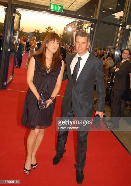 """Markus Lanz, Freundin Angela Gessmann , ZDF-Gala Verleihung """"Deutscher Fernsehpreis 2008"""", """"Coloneum"""", Köln, Nordrhein-Westfalen, Deutschland,..."""