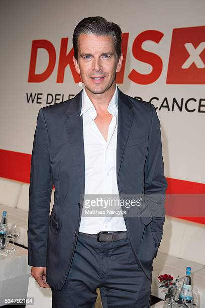 Markus Lanz prior to the DKMS 25th Anniversary Gala at Cafe Moskau on May 27 2016 in Berlin Germany