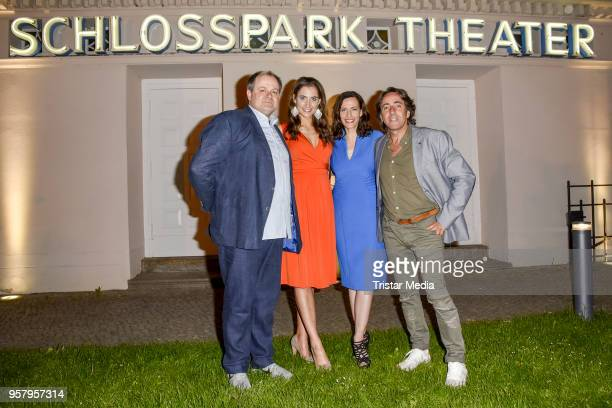 Markus Majowski Katharina Maria Abt Dieter Landuris and Ulrike Frank during the premiere of 'Kasimir und Kaukasus' on May 12 2018 in Berlin Germany