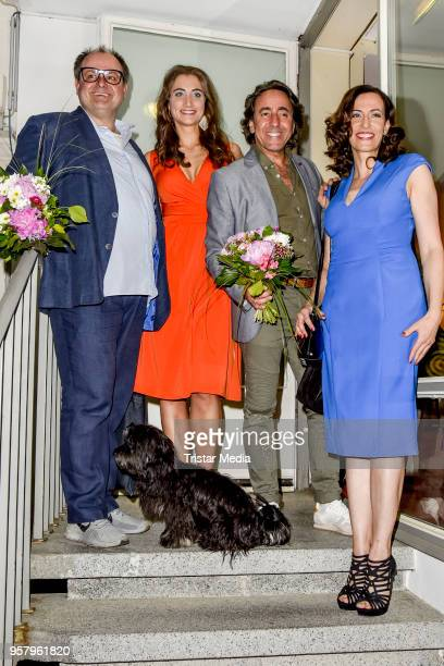 Markus Majowski Katharina Maria Abt Dieter Landuris Ulrike Frank during the premiere of 'Kasimir und Kaukasus' on May 12 2018 in Berlin Germany