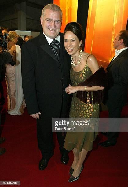 """Markus Maria Profitlich, Ehefrau Ingrid Einfeldt, Verleihung """"Deutscher Fernsehpreis 2003"""", Coloneum, Köln, Nordrhein-Westfalen, Deutschland, Europa,..."""