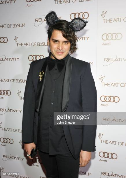 Markus Molinari arrives at Audi presents The Art of Elysium's 5th annual HEAVEN at Union Station on January 14, 2012 in Los Angeles, California.