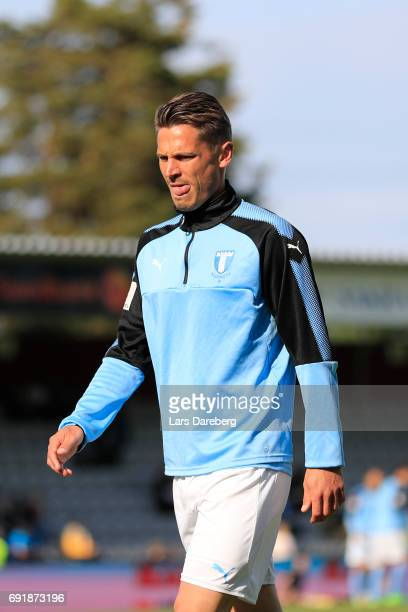 Markus Rosenberg of Malmo FF during the Allsvenskan match between Jonkopings Sodra IF and Malmo FF at Stadsparksvallen on June 3 2017 in Jonkoping...