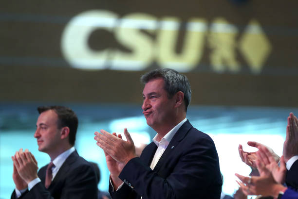 DEU: CSU Holds Party Congress Ahead Of Federal Elections