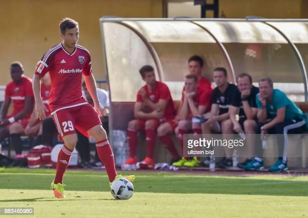 Markus Suttner in Aktion waehrend dem Fussball Testspiel FC Ingolstadt 04 gegen Huddersfield Town FC fuer die Saison 2016/2017 am 29 Juli 2016 in...