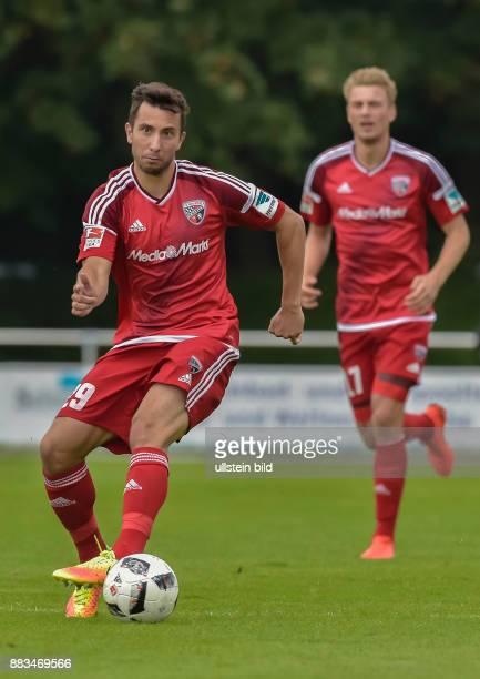 Markus Suttner in Aktion waehrend dem Testspiel fuer die Fussball Bundesliga Saison 2016/2017 FC Ingolstadt 04 gegen SV Werder Bremen am 13 August...
