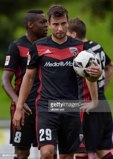 Markus Suttner waehrend dem Fussball Testspiel FC Ingolstadt 04 gegen FC Turin fuer die Saison 2016/2017 am 2 August 2016 in Schwaz Endstand 01