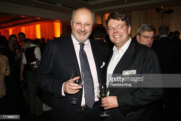 Markus Trebitsch and Peter Schwenkow In The Media Night at the Park Des Bauer Publishing the Hyatt Hotel in Hamburg