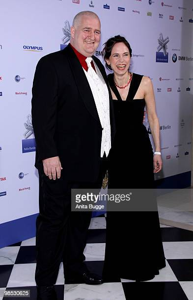 MarkusMaria Profitlich and Ingrid Einfeldt attend the 'Felix Burda Award' at the Adlon hotel on April 18 2010 in Berlin Germany