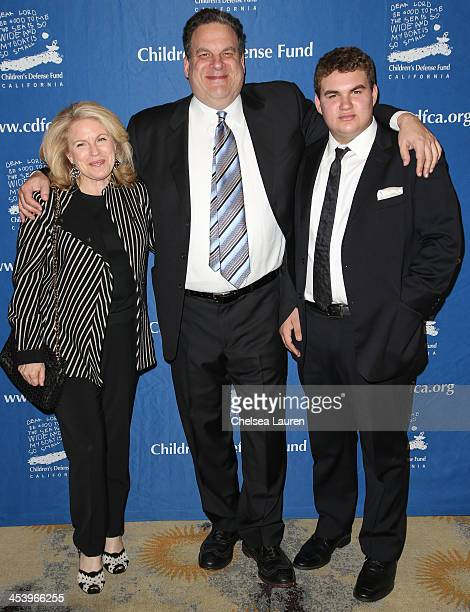 Marla Garlin actor Jeff Garlin and James Garlin arrive at the Chidren's Defense Fund 23rd annual Beat The Odds Awards at Beverly Hills Hotel on...