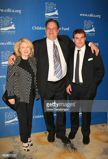 Marla Garlin actor Jeff Garlin and James Garlin attend Children's Defense Fund California Hosts 23rd Annual Beat The Odds Awards at the Beverly Hills...