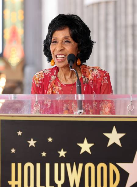 CA: Marla Gibbs Honored With Star On The Hollywood Walk Of Fame