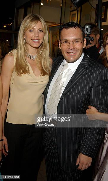 Marla Maples and Daniel Espinosa during Daniel Espinosa Store Opening at Daniel Espinosa Store in Beverly Hills California United States