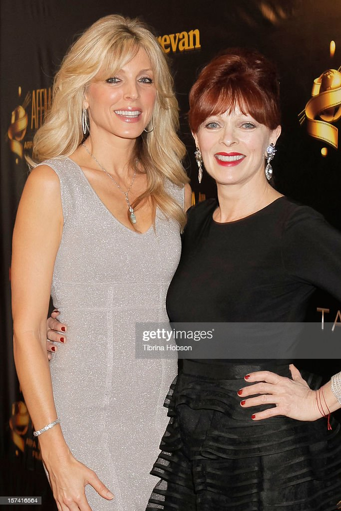 Marla Maples and Frances Fisher attend the Arpa International Film Festival closing night gala at Sheraton Hotel on December 2, 2012 in Universal City, California.