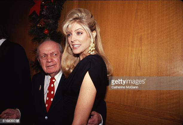 Marla Maples and Joey Adams in 1991 in New York City New York United States