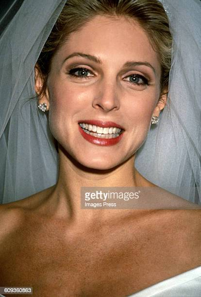 Marla Maples at her Wedding to Donald Trump circa 1993 in New York City