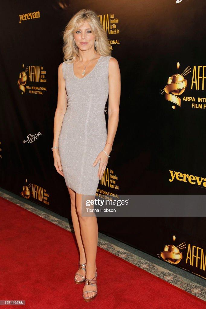 Marla Maples attends the Arpa International Film Festival closing night gala at Sheraton Hotel on December 2, 2012 in Universal City, California.